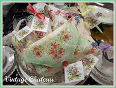 The Vintage Chateau: Vintage Hanky Sachet Tutorial 2019 The Vintage Chateau: Vintage Hanky Sachet Tutorial The post The Vintage Chateau: Vintage Hanky Sachet Tutorial 2019 appeared first on Fabric Diy. Lavender Bags, Lavender Sachets, Vintage Crafts, Upcycled Vintage, Vintage Linen, Repurposed Items, Vintage Ideas, Homemade Gifts, Diy Gifts