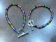 Mommy & me bracelets for the first day of school:)