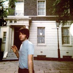 Beatle Paul McCartney At His House In St Johns Wood 7 Cavendish Avenue