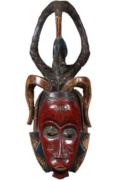 African art is rich in meaning and expression. Tribal Masks have inspired many famous artists such as Picasso.