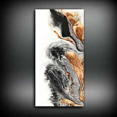 Abstract Art Original Painting Canvas Painting by LDawningScott