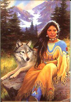 Wolf w. Native