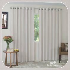 Para quem prefere cortinas discretas sem perder o toque de elegância, indicamos nossa nova Cortina Rústica Genova!