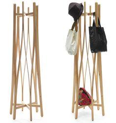 flat pack coat hanger by aesthetic studio