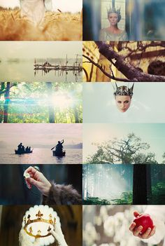 "Snow White and the Huntsman     ""Lips red as blood, hair black as night, bring me your heart, my dear, dear Snow White."""