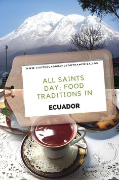 While you visit the country during the day of the Dead or all saints day (Spanish: 'día de los difuntos'), enjoy some food traditions in Ecuador Ecuador, South America, Latin America, All Souls Day, Eat Together, All Saints Day, Different Fruits, Galapagos Islands, Just Dream