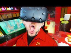VIRTUAL REALITY MCDONALDS | Job Simulator #1 (HTC Vive Virtual Reality) - YouTube