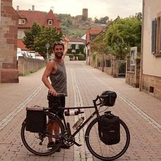 Apparently there's a party tonight at the castle. #germany #europebybike #cycling #wine