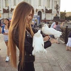 Most Popular Hair Colors for Long Hair - Lange Haare Ideen Beautiful Long Hair, Gorgeous Hair, Amazing Hair, Straight Hairstyles, Cool Hairstyles, Winter Hairstyles, Beauté Blonde, Super Long Hair, Really Long Hair