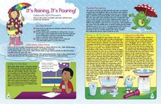 It's raining, it's pouring! Do you know the science of weather and water? Find out alongside your students with this free printout. Spring Fever, Spring Is Here, April Showers, It's Raining, Spring Cleaning, Did You Know, Literature, Students, Classroom