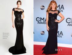 Connie Britton In Georges Hobeika – 2013 CMA Awards