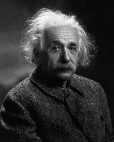 Einstein poses for a photo near the end of his life.