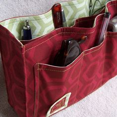 Looking for a purse organizer, this one looks good  pdf Sewing Instructions - Purse Organizer Insert. $10.00, via Etsy.