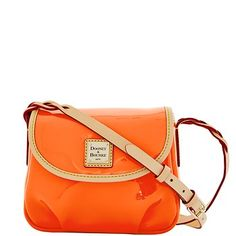 Dooney & Bourke: Patent Flap Pleated Crossbody