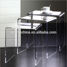 2015 Hot New Products Cheap Acrylic Coffee Table, Clear Plastic Coffee Tables, Glass Coffee Tables