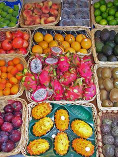 Exotic fruits. Love going to vietnam & eating dragon fruit, jackfruit…