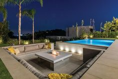 Modern Outdoor Patio Design Ideas Increase the value of your house property by opting for this shini Modern Patio Design, Outdoor Patio Designs, Backyard Pool Designs, Diy Patio, Pergola Designs, Outdoor Areas, Outdoor Pool, Terrasse Design, House Property