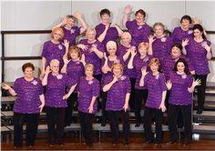 Harmony Northwest Chorus, members of Sweet Adelines International, North Pacific Region 13