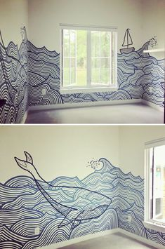 Wall Decor For Your Living Room Nursery Mural by Avery Orendorf at Private Residence, Austin So You