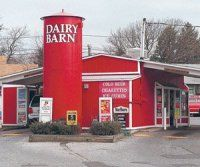 Dairy Barn Drive Thru On Both Sides Quick Pick Up For Milk Oj Soda Ice Cream My Friends Tell Me There Is ONE Left Long Island