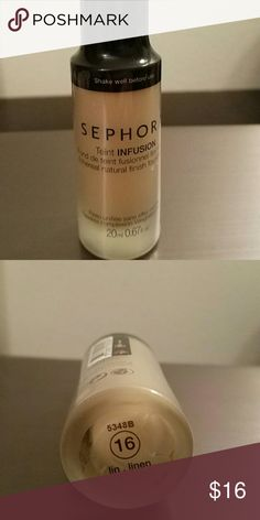 Brand new Sephora foundation in Linen New Sephora Teint Ethereal Natural Finish Foundation in Linen. Great for fair skin! Tags still on Sephora Makeup Foundation