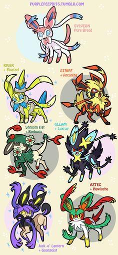 pokemon memes sylveon variations<<i love the jack-o-laturn one Pikachu, Pokemon Mix, Pokemon Fusion Art, Mega Pokemon, Cool Pokemon, Pokemon Images, Pokemon Pictures, Pokemon Eeveelutions, All Eevee Evolutions