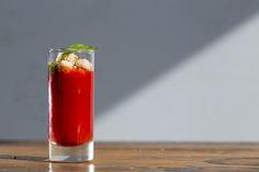 Gaspacho de tomate e melancia [ Buffet | Finger food ]