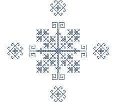 Výšivka Čičmany, 12x12 cm Coding, Embroidery, Art, Art Background, Needlepoint, Kunst, Performing Arts, Programming, Art Education Resources