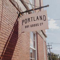 Portland Dry Goods Co. #logo