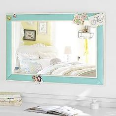 Decorative Mirrors, Floor Mirrors & Full Length Mirrors | PBteen pool or pink