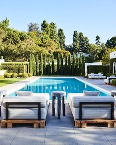 Nothing better than a rectangular pool for your Nada mejor que una piscina rectangular para tu hogar Nothing better than a rectangular pool for your home - Backyard Pool Landscaping, Backyard Pool Designs, Swimming Pools Backyard, Swimming Pool Designs, Landscaping Ideas, Backyard With Pool, Backyard Privacy, Privacy Shrubs, Hydrangea Landscaping