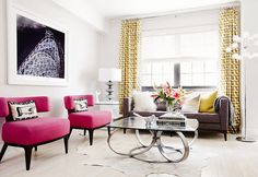 The Most Jaw-Dropping Living Room Makeovers You've Ever Seen via @MyDomaine
