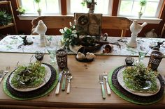 Designs by Pinky: Lightening up the Table