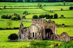 Church near the Rock of Cashel, Ireland
