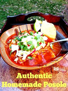 Homemade Posole Recipe - This is the real deal people! - Homemade Posole Recipe – This is the real deal people! Authentic Posole Recipe Pork, Posole Recipe Chicken, Chicken Pasole, Pork Recipes, Chicken Recipes, Cooking Recipes, Cooking Tips, Mexican Recipes, Pozole Rojo