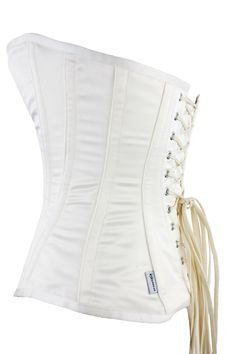 7930502bc76 Yvonne Overbust Wedding corset with low Back ideal for wearing under a wedding  dress by Vollers