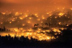 california wildfires august 2014 | Otherworldly view of a giant Californian wildfire Tornados, Sea Of Poppies, West Coast Road Trip, California Wildfires, The Washington Post, End Of The World, National Forest, Natural Disasters, Climate Change