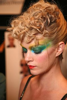 this feels super 80s but i dig..not a fan of the makeup though obv