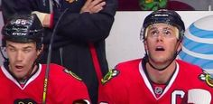 Shaw's face.