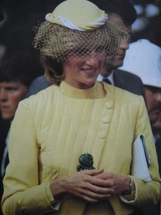 Prince and Princess of Wales visited New Zealand in 1983.
