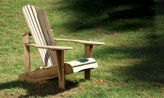[Click for full-size] An Adirondack chair can be built in a day.