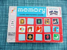 Vintage Games: Memory from Modern Kiddo Website