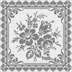 Cross Stitch Samplers, Cross Stitch Charts, Cross Stitch Patterns, Bobbin Lace Patterns, Knitting Patterns, Crochet Patterns, Filet Crochet Charts, Crochet Diagram, Crochet Tablecloth
