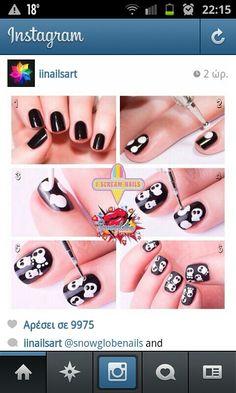 I Scream Nails - Melbourne Nail Art Skull Nail Designs, Skull Nail Art, Skull Nails, Funky Nail Art, Funky Nails, Bed Of Nails, Gothic Nails, Halloween Nail Art, Halloween Ideas