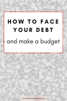 Are you worried about how to get out of debt? There is always a solution to any debt problem, and you are not alone so don't panic first and foremost. Facing your debt and making a budget is one of the best things you can do for yourself so don't put it off any longer.