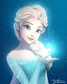 Queen Elsa, Frozen || Link source : http://www.deviantart.com/art/2014-04-30-Elsa-451370809