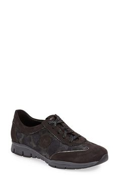 Mephisto 'Yael' Soft-Air Sneaker (Women) Dark Grey/ Tank/ Black Size 40.5 EU - $235 on Vein - getvein.com