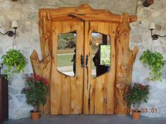 Puerta rustica de madera de roble maciza 22x120x8 arco de for Jardin 61 bariloche