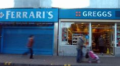 The Taff Vale shopping centre, Ferrari's next door to Greggs, Woolworths...