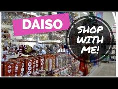 638de6a6c DAISO SHOP WITH ME! Japanese Dollar Store Tour & Haul | December 2017.  YouTube